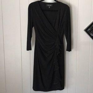 Black Label by Evan Picone - Black Dress Sz 4